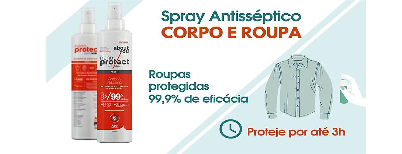 spray antisséptico